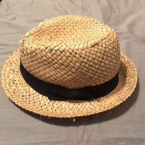 Straw fedora hat!!